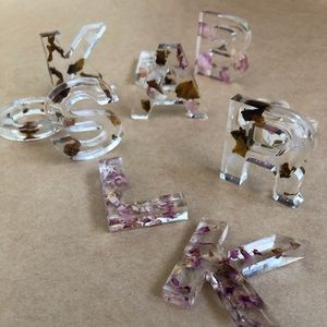 Resin Letters